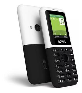 Teléfono Celular Doble Sim Logic B8 Básico Nuevo Económico