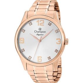 Relógio Feminino Champion Passion Rosê Cn25663z Original