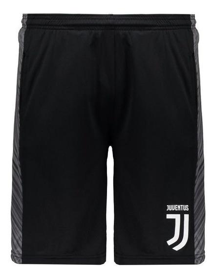 Bermuda Juventus Shadow Sport Long Preta