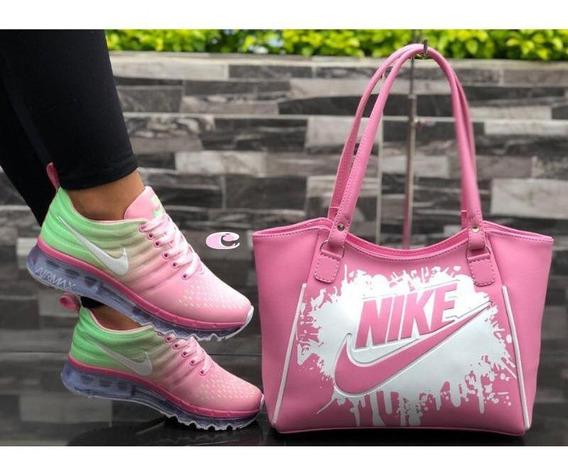 Zapatos Deportivos Para Dama Colombianos (combo 2 Pzas)