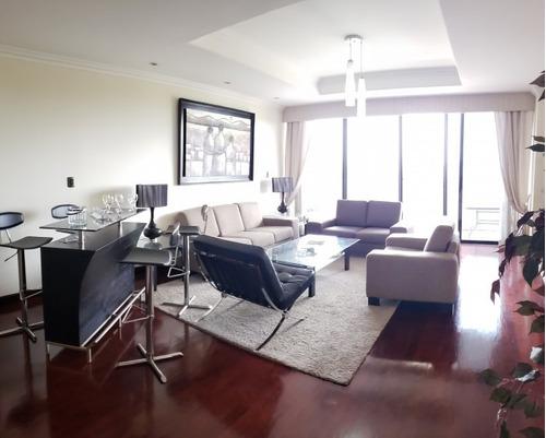 Vendo O Alquilo Apartamento Con 247 En Zona 14 - Pma-001-09-11