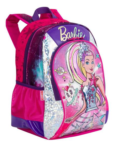 Mochila Média Barbie Aventura Nas Estrelas
