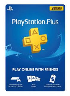 Tarjeta Playstation Plus 3 Meses Usa Envio Inmediato Local