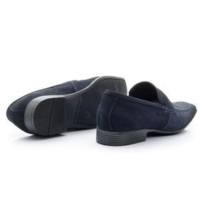 0f14ac9970 Sapato Azul Marinho De Camurca Sapatos Sociais - Sapatos no Mercado ...