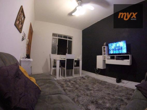 Apartamento Com 2 Dormitórios À Venda, 68 M² Por R$ 237.000,00 - Vila Voturua - São Vicente/sp - Ap4566