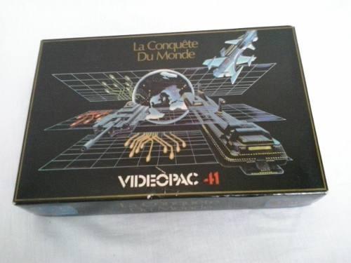 Jogo Odyssey Videopac La Conquete Du Monde Philips Odyssey