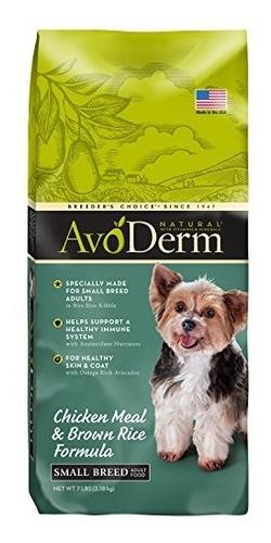 Avoderm Natural Dog Food Para Cachorros Senior Small Breed Y