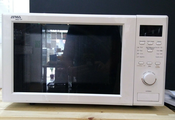 Microondas Dig. 28 LtsC/grill Atma Sin Envio Impecable!!!
