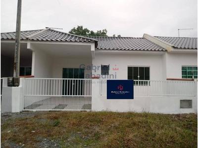 Casa Geminada Nova Com 51,73 M² Em Itapoá À Venda