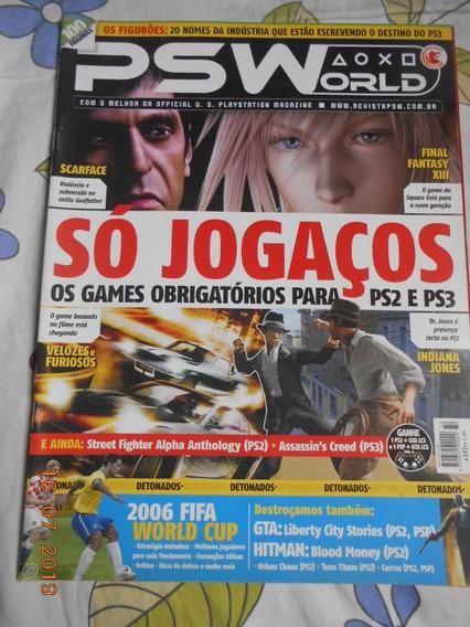 Revista Psworld Playtation - Ed. 32 - Fifa - Final Fantasy