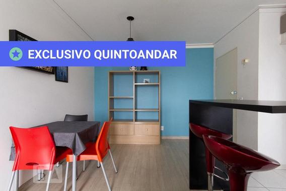 Apartamento No 14º Andar Com 2 Dormitórios E 1 Garagem - Id: 892990869 - 290869