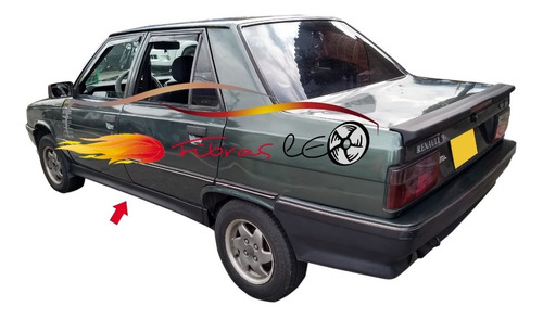 Estribos Renault 9