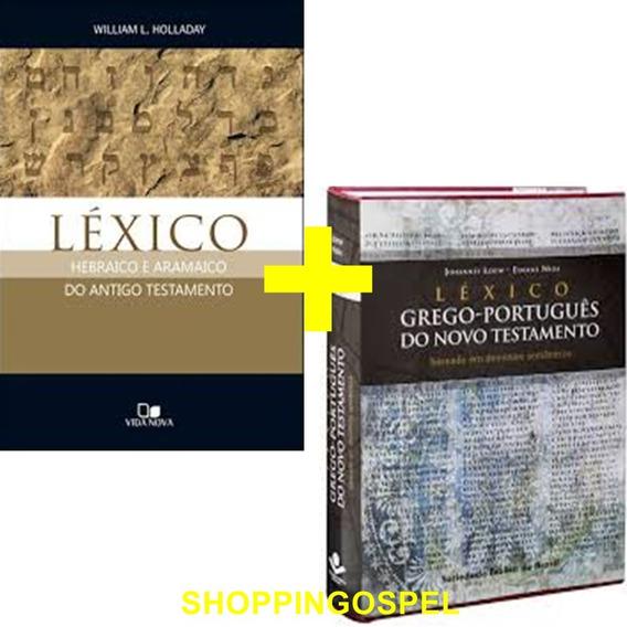 Léxico Hebraico E Aramaico Do At + Léxico Grego Português Nt