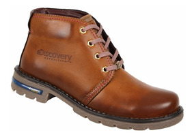 Bota Discovery Ds1991 Color Camel. Mujer