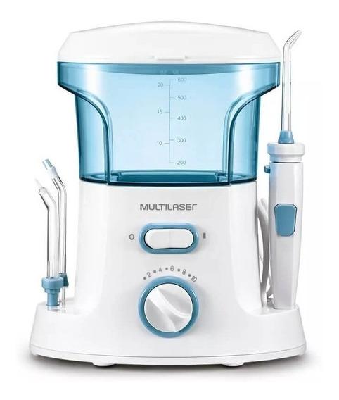 Irrigador oral Multilaser HC037 branco/azul 100V/220V