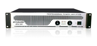 Amplificador Potencia Estereo Bta160 Gbr 500wpico 240wrms