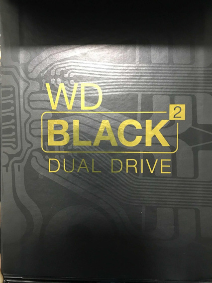 Wd Black2 Dual Drive Híbrido 2.5 120 Gb Ssd + 1 Tb Hdd