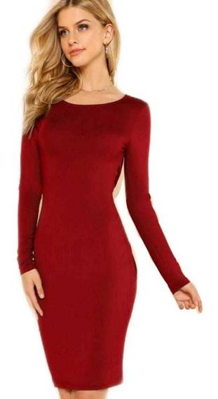 Oferta Temporada Sexy Vestido Nuevo Cocktail Rojo Ropa Dama