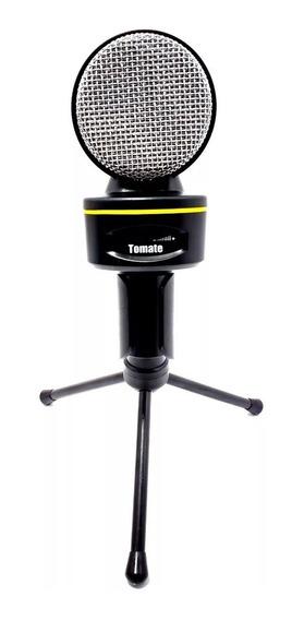 Microfone Condensador Profissional De Mesa Para Youtubers