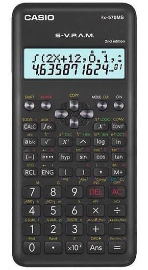 Calculadora Cientifica Casio Fx-570ms 2nd Edition Com 401 Fu