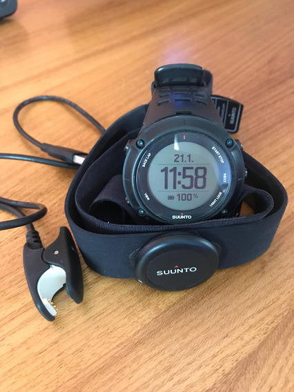 Suunto Ambit3 Peak Black Hr Com Gps Integrado