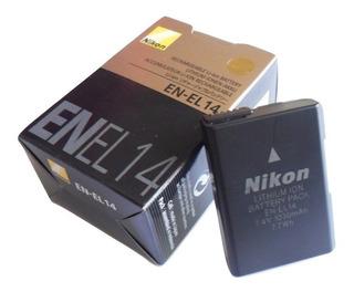 Bateria Nikon Original En-el14 D3300 D5100 D5200 D5300 D5500