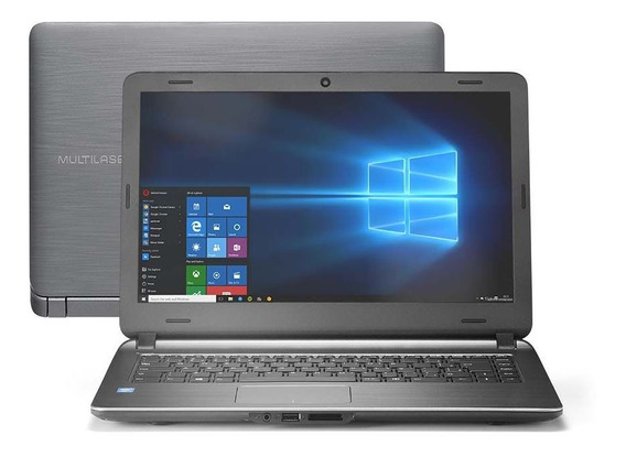 Notebook Multilaser Intel Corei3 4gb 120gb Ssd 14 Windows10
