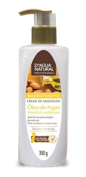 Dagua Natural Creme De Massagem Óleo De Argan 350g