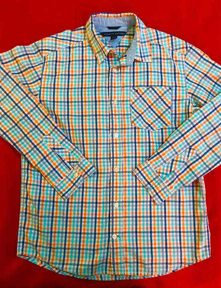 Camisa Tommy Hilfiger Original Talla Xs/ No Lacoste Polo