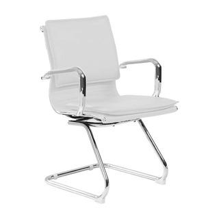 Cadeira De Escritório Interlocutor Eames Comfort Branca