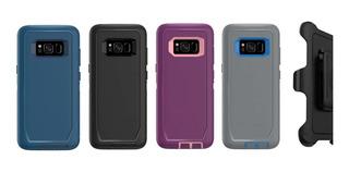 Funda Samsung Galaxy S8 S8+ Uso Rudo Defender + Clip Mica