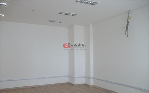 Imagem 1 de 17 de Ótima Sala Comercial Para Locação, 39 M² - Centro De São Bernardo Do Campo/ Sp - 82117
