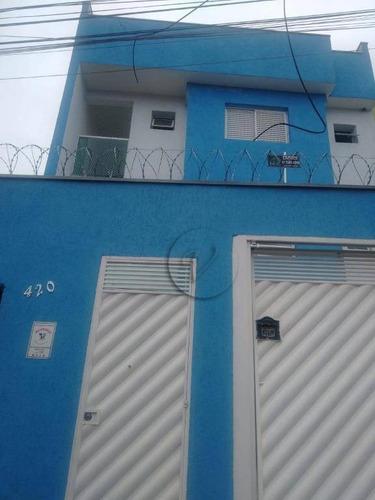 Imagem 1 de 4 de Apartamento Com 3 Dormitórios À Venda, 86 M² Por R$ 330.000,00 - Vila Príncipe De Gales - Santo André/sp - Ap10194