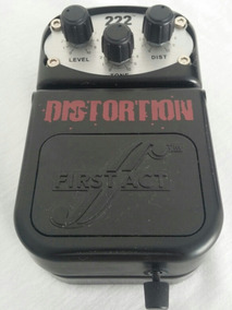 Pedal Distortion 222 First Act Al510 Inspired By Adam Levine