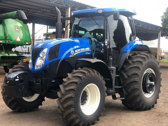 Trator New Holland T7 190 Ano 2018/2018