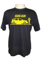 Camiseta Gol G4 Divertida Carros