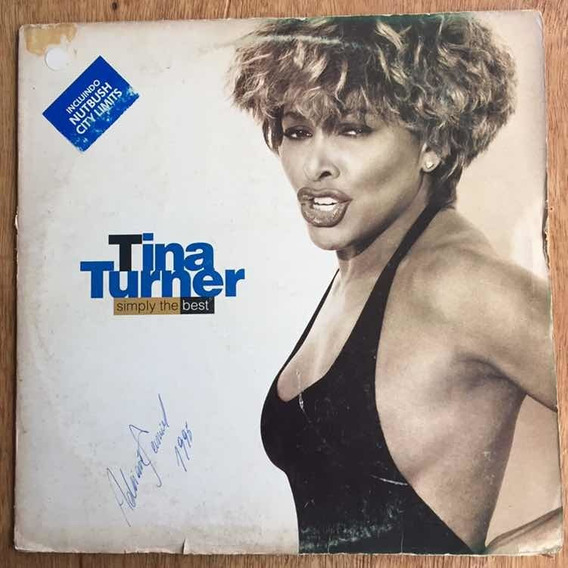 Lp Tina Turner Simply The Best 1991