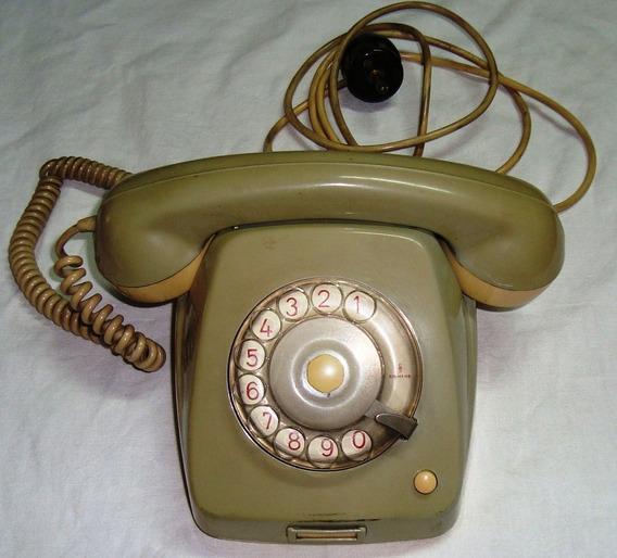 Antiguos Telefonos A Disco Funcionando Normalmente
