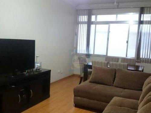 Imagem 1 de 21 de Apartamento Com 2 Dormitórios À Venda, 70 M² Por R$ 339.000,00 - Embaré - Santos/sp - Ap3218