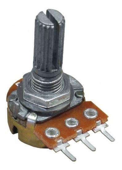 5x Potenciometro Mini Linear Estriado 1k 5k 10k 50k 100k Etc