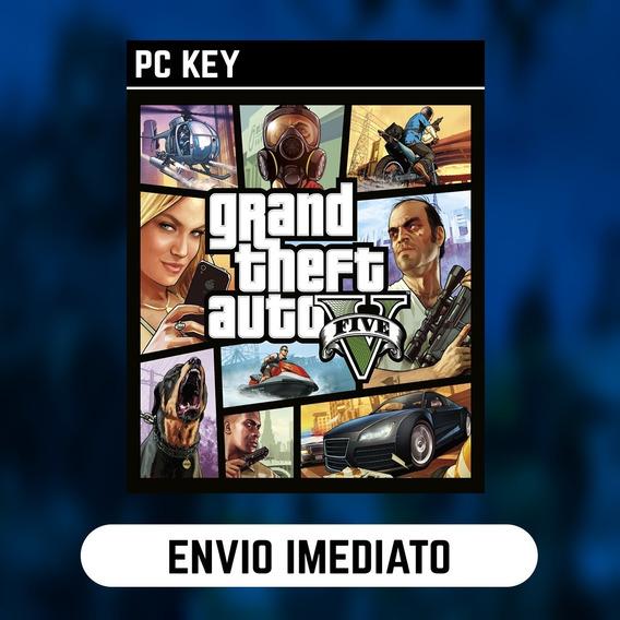 Grand Theft Auto V Pc Steam Gift Presente