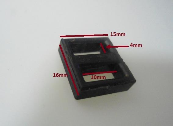 Núcleo Ferrite / Tamanho 16mm X 15mm