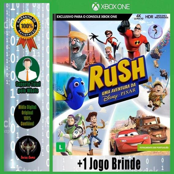 Rush A Disney Pixar Adventure Xbox One Mídia Digital +1 Jog