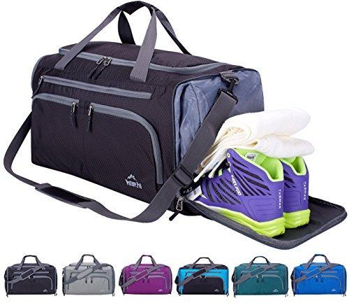 Venture Pal Packable Sports Gym Bag Con Wet Pocket Y Shoes C