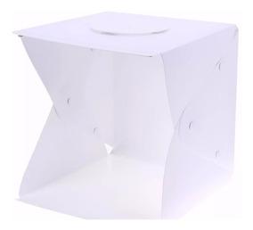 Estudio Fotográfico Photo Studio Box De Led 40x40cm + Fonte