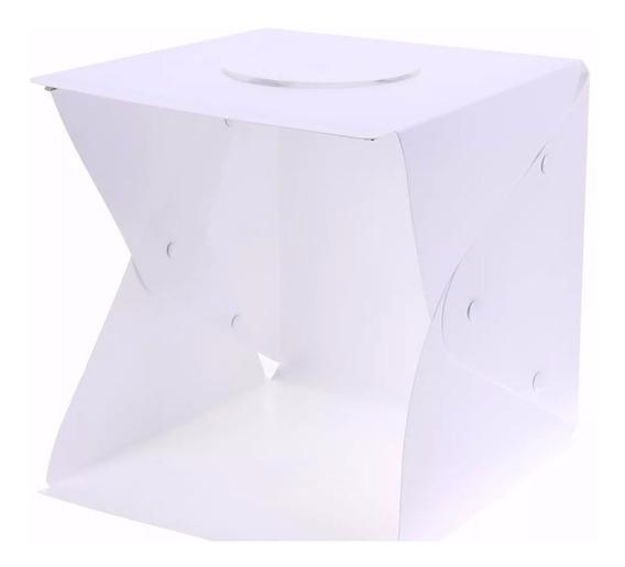 Estudio Fotográfico Photo Studio Box De Led 40x40cm