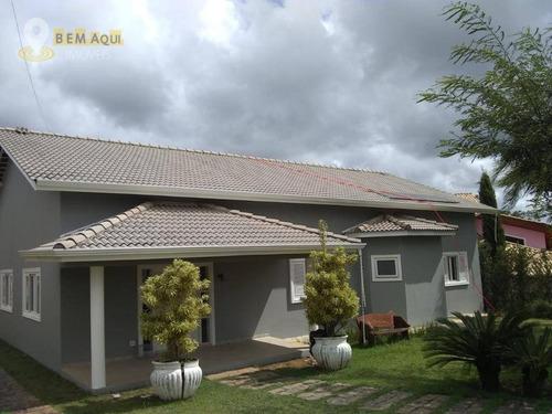 Imagem 1 de 27 de Casa Com 4 Dormitórios À Venda, 440 M² Por R$ 1.350.000,00 - Parque Village Castelo - Itu/sp - Ca0744