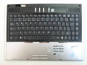 Carcaça Superior C/ Teclado + Mouse Notebook Sti Is 1462