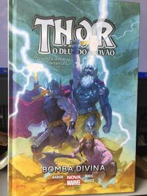 Thor O Deus Do Trovão -bomba Divina- Hq Capa Dura - Lacrado