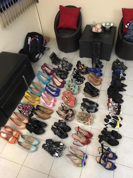 Lote De Zapatos Para Dama. 39 Pares , Excelente Estado